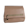 HUNTERS HILL-  Nude Genuine Leather Crossbody Shoulder Bag
