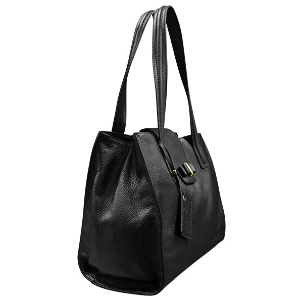 KILLARA - Genuine Leather Bag Black - Addison Road