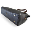 ROTHBURY Black Leather Weekender Overnight Business Bag - Addison Road