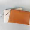 SORRENTO - Addison Road - Blush Structured Saffiano Clutch