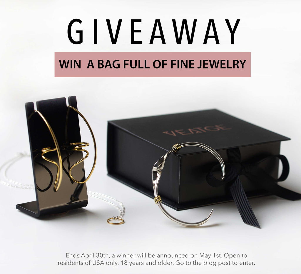 GIVEAWAY - A Bag Full of Fine Jewelry