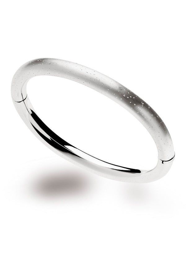Diamond Dust Oval Bangle