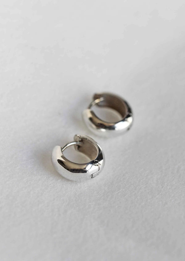 silver hoops, silver hoop earrings, sterling silver hoop, small hoop earrings
