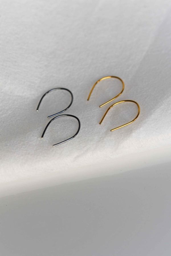 Horseshoe earrings, pay it forward earrings veatge
