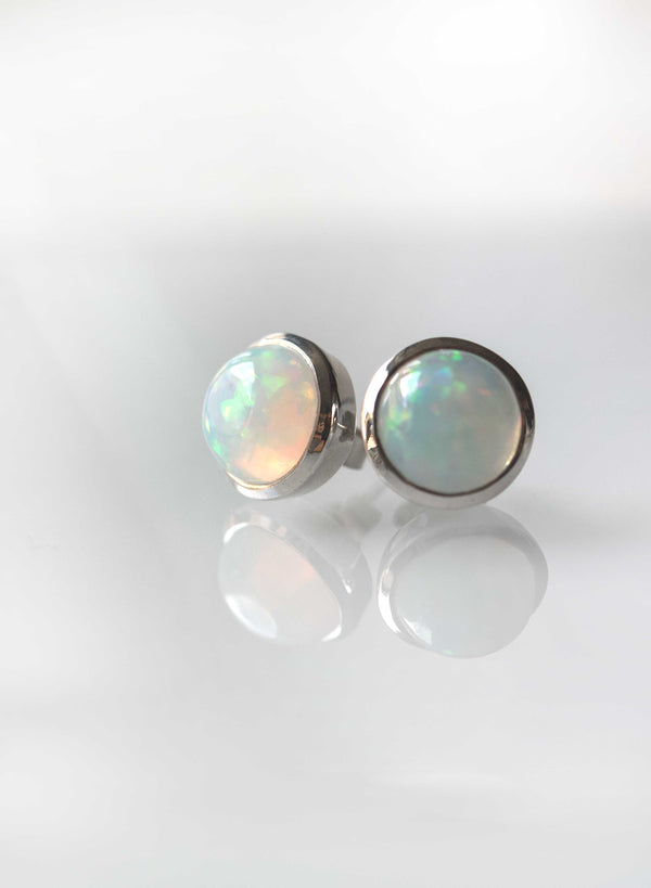 Opal Large Studs Earrings