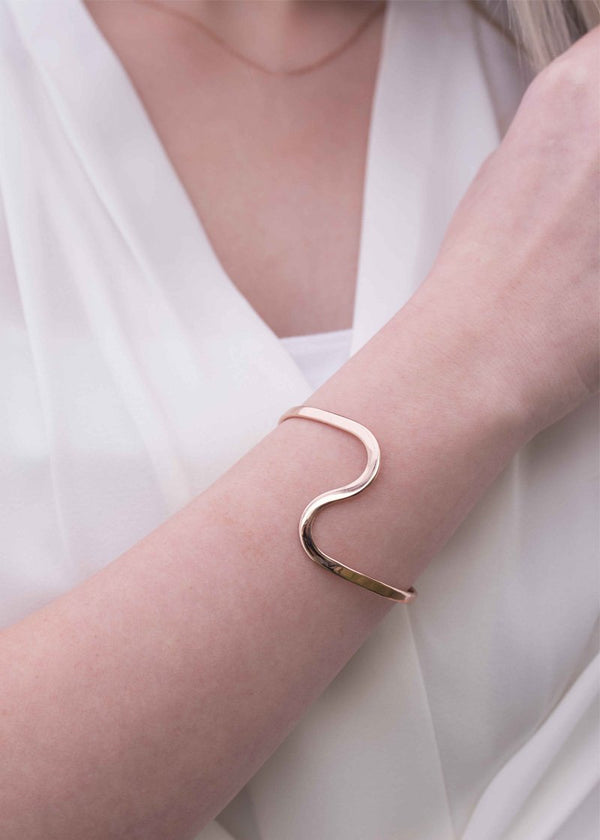 Rose Gold Statement Bracelet