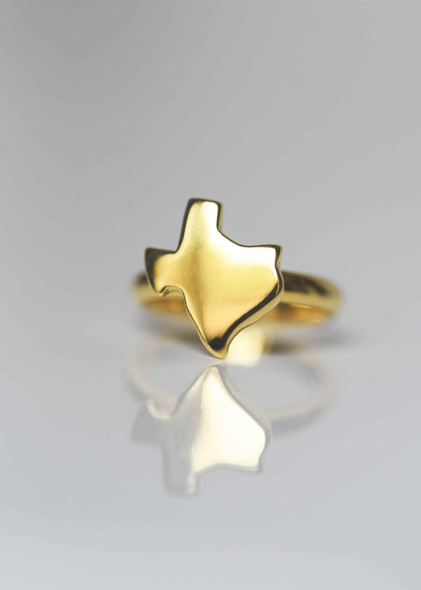 gold texas ring