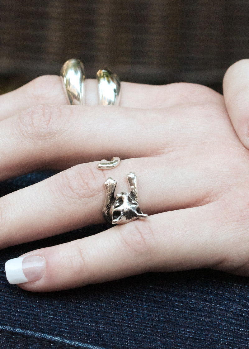 Antique Kitty Ring
