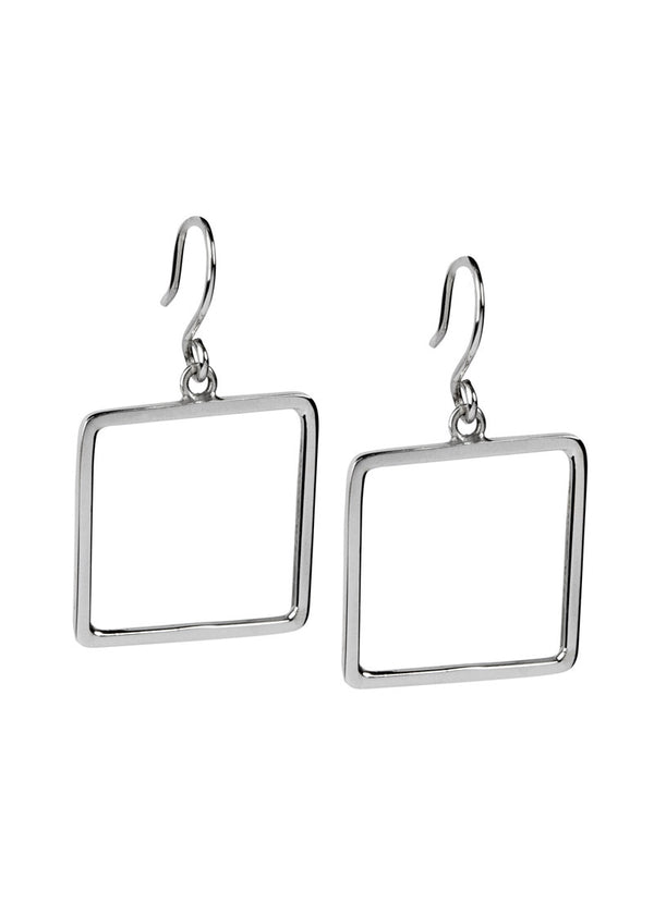 Square Hoops - Earrings