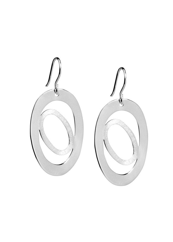 Two Circles - Earrings