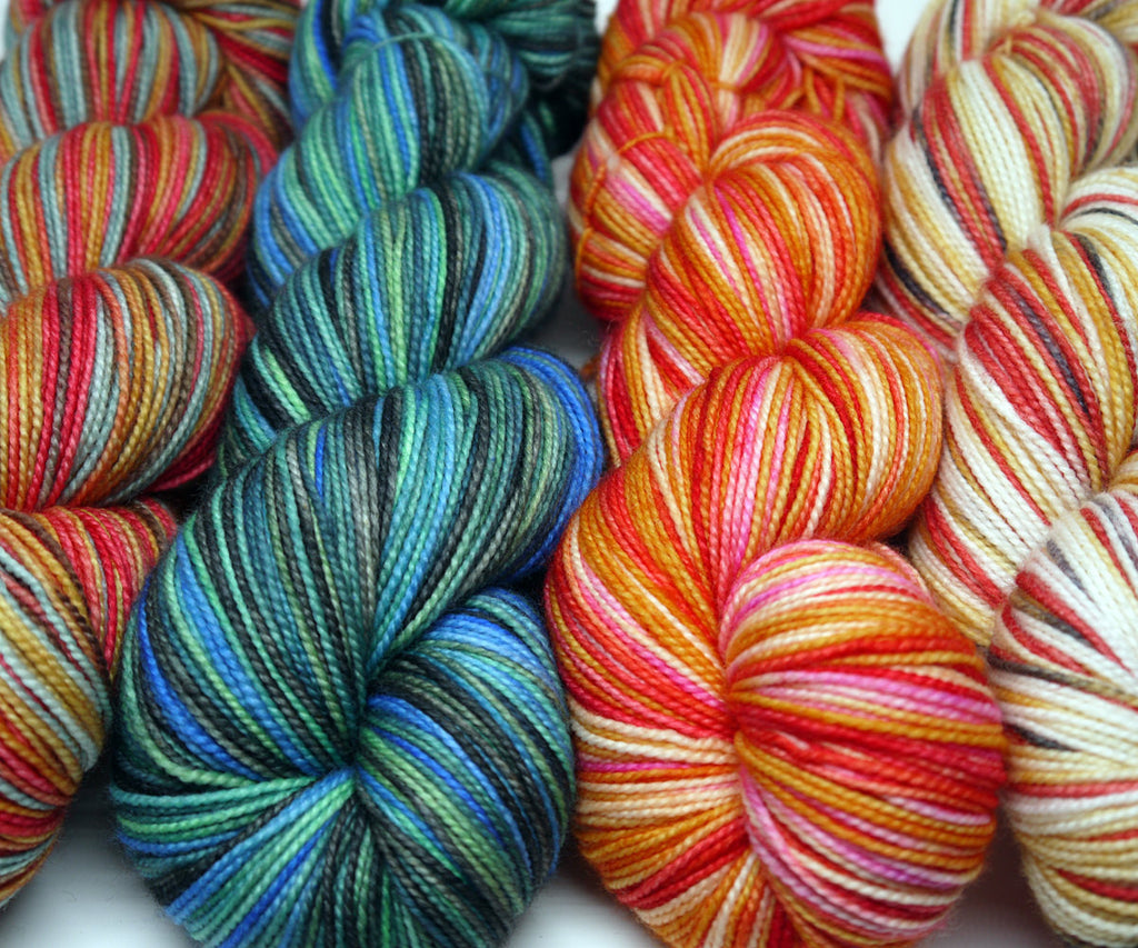 Merino Worsted - BWAAKK!! (Extra Orange)
