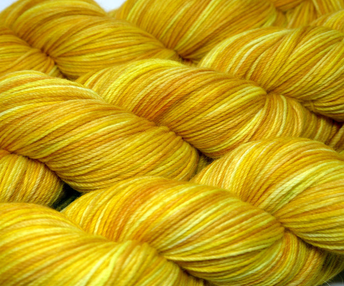 Alpaca Sock - Brite Yellow