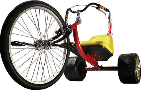 The HIGH ROLLER: Adult Size Big Wheel Trike