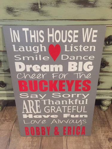 IN THIS HOUSE - BUCKEYES