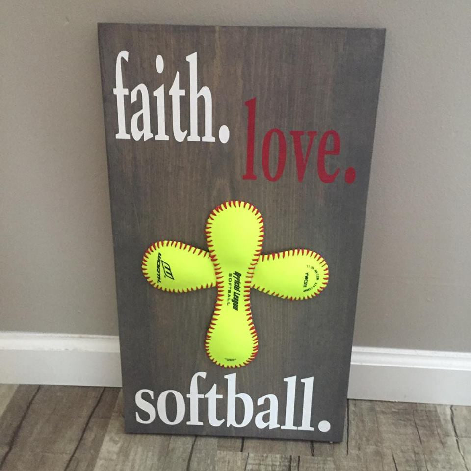 FAITH.LOVE.SOFTBALL.