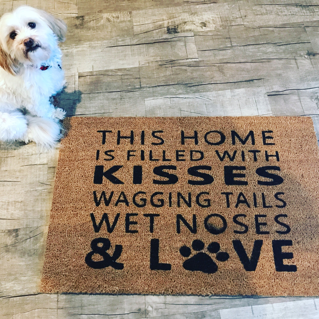 This home is filled with...doormat