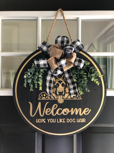 Welcome - hope you like dog hair