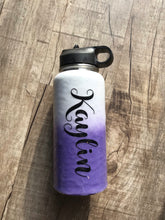 Dog Mom with name water bottle 32oz
