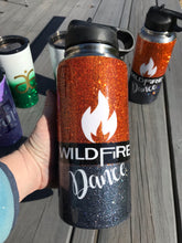 Wildfire Dance water bottle with name 32oz