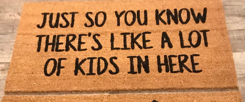 Just so you know...doormat