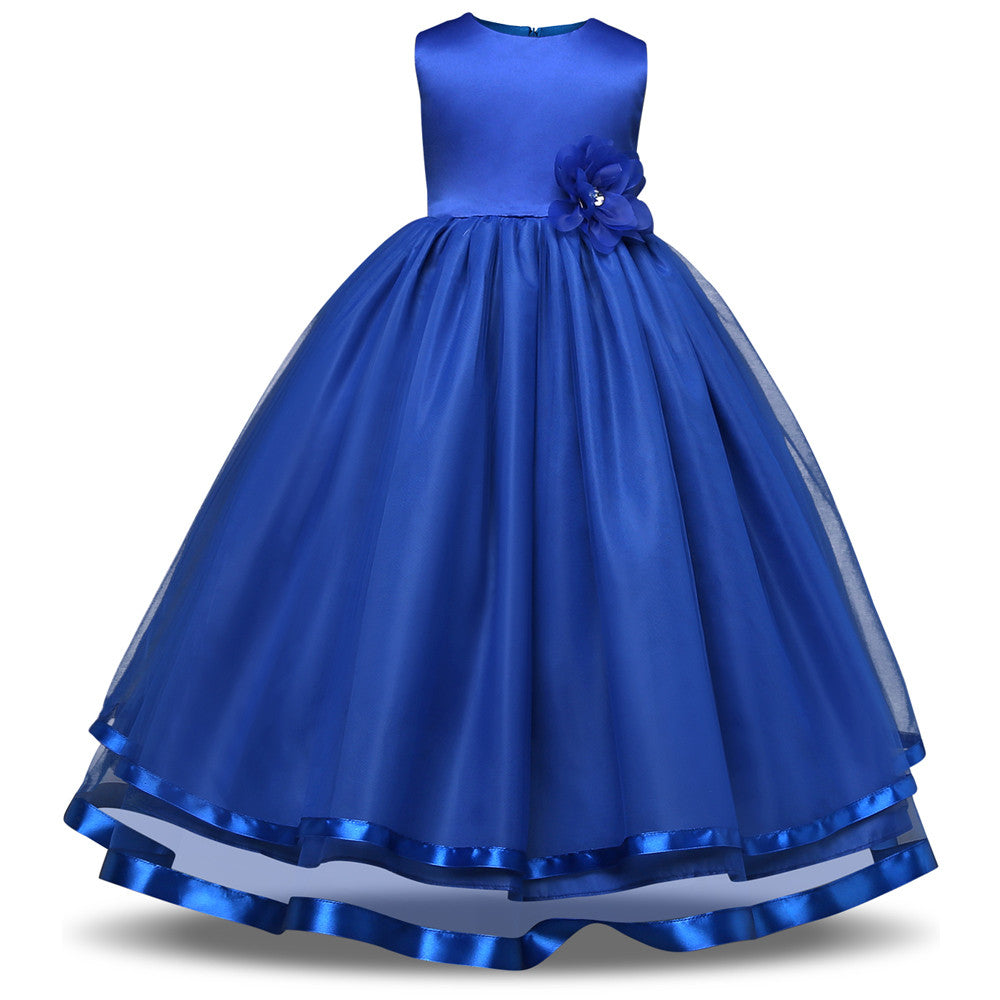3a7db2852 Ai Meng Baby Flower Girl Dress Kids Party Wear Children s Clothing ...