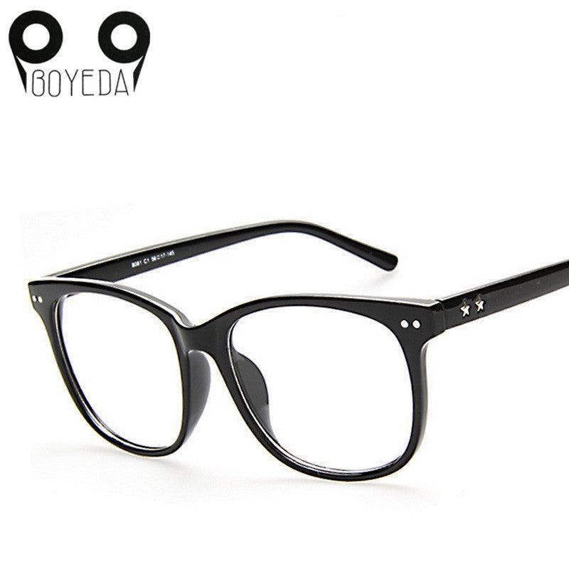 BOYEDA Square Women Eyeglasses Spectacle Frame Female Optical ...