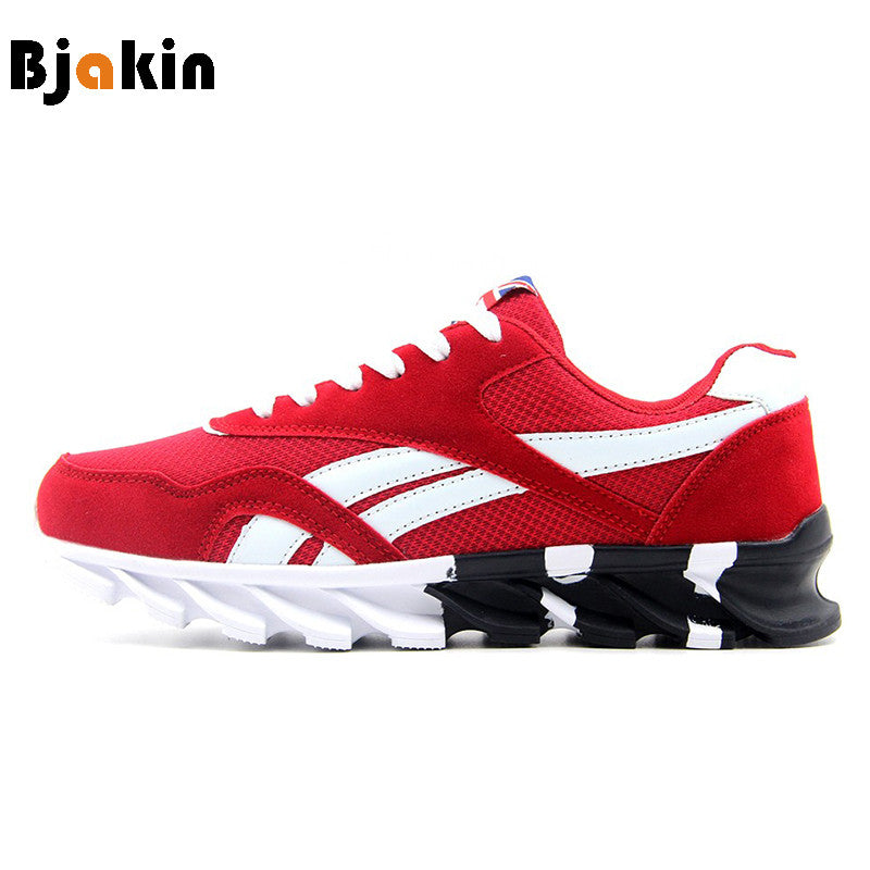 Bjakin Men Running Shoes Outdoor Men s Sneakers Trending Style Sports Shoes  Breathable Footwear Jogging Walking Shoes 886dc48184a4