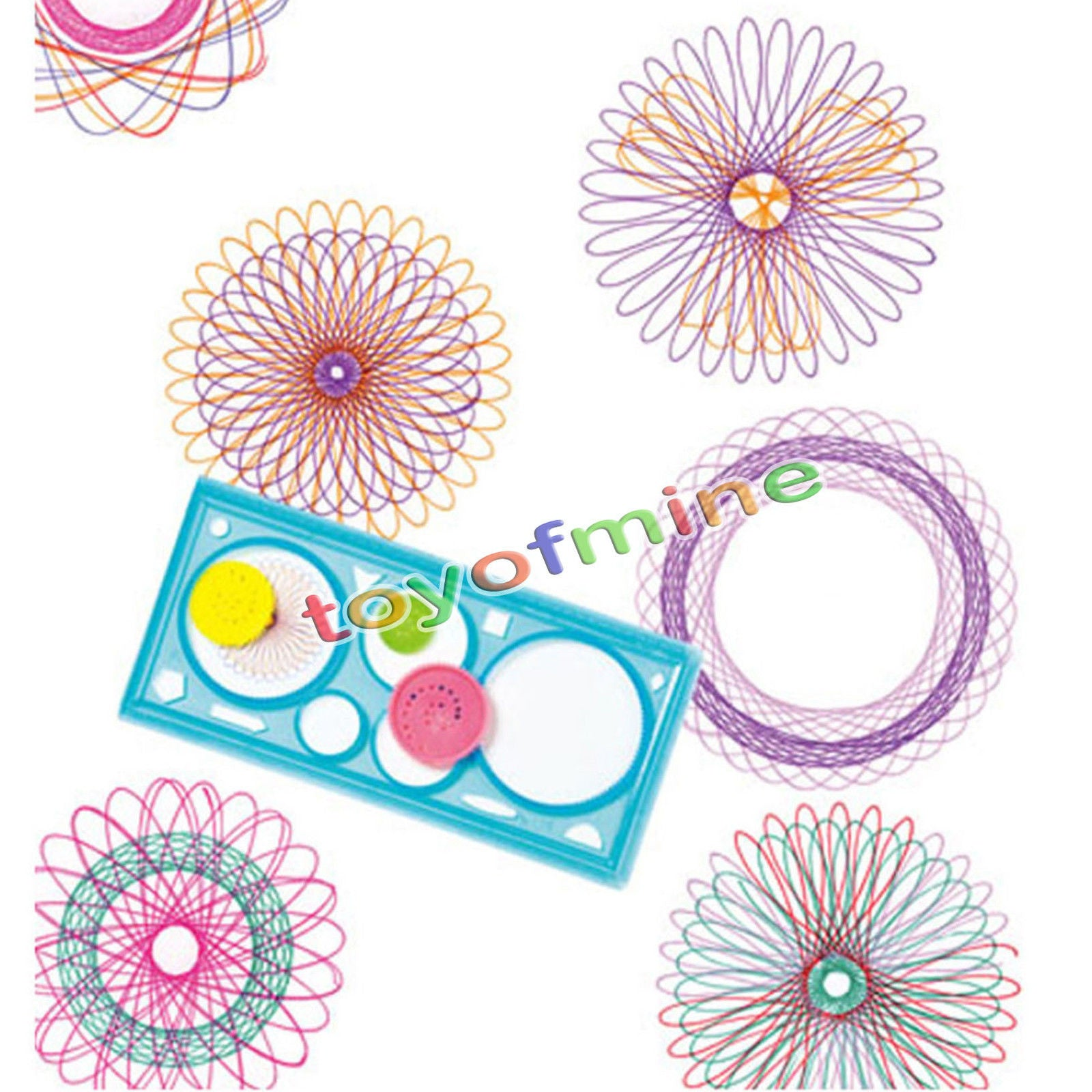 Spirograph Geometric Ruler Drafting Tools Stationery For Students Drawing Set Learning Art Sets Creative Gift For Children High Quality And Inexpensive School & Educational Supplies