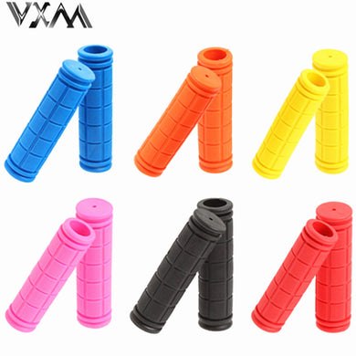 24c8c78b11c Cycling BMX MTB Road Mountain Bicycle Bike Soft Rubber Handle Bar Handle  Grips 1 Pair Mountain