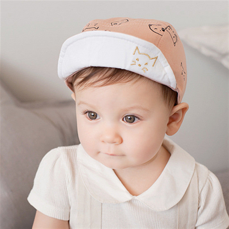 ... Fashion Baby Baseball Cap For Girl Cotton Cap Cute Spring Kid Hat Baby  Boy Summer Hat ... 321573a91eb