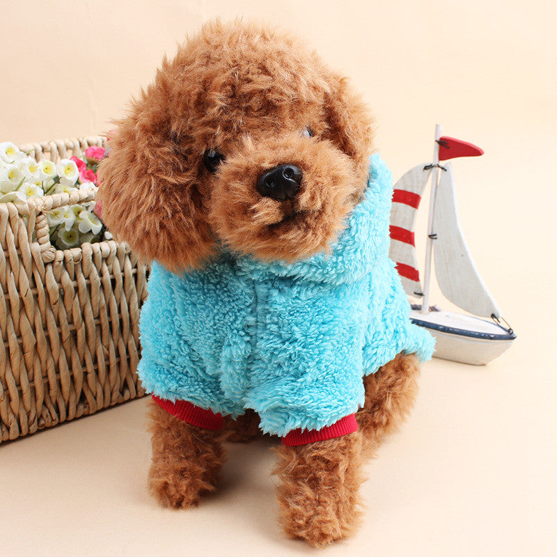... Idepet Fleece Puppy Dog Clothes Cute Hoodie Coat Sweater Pet Costumes Clothing For Small Dogs Pets ... & Idepet Fleece Puppy Dog Clothes Cute Hoodie Coat Sweater Pet ...