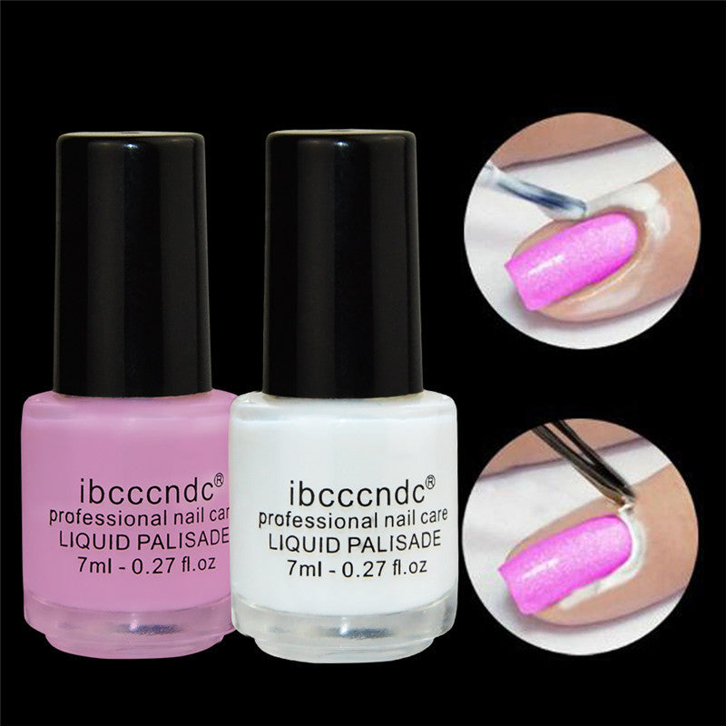 New Peel Off Nail Liquid Nail Art Tape Latex Tape Finger Skin ...