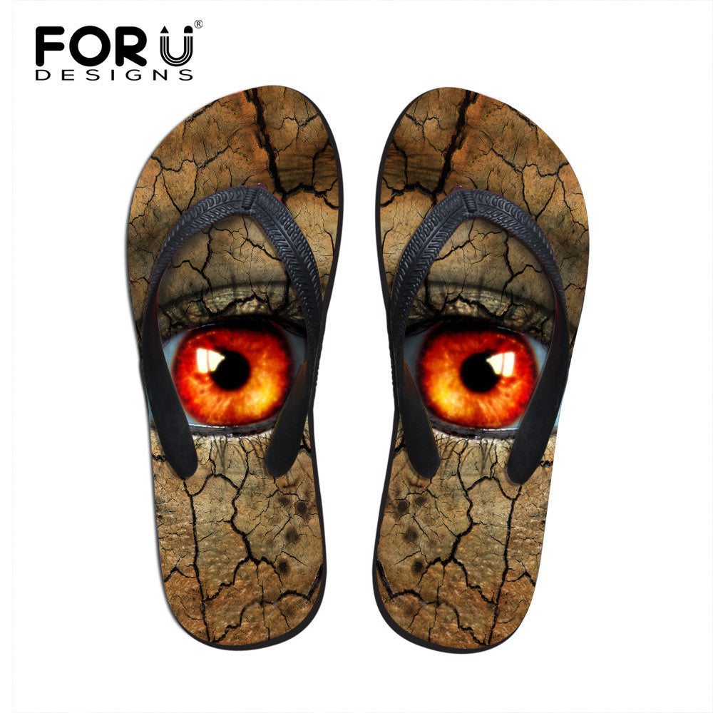 6e024619087c6 ... New Women s Sandals Summer Beach Flip Flops Casual Big Eyes Lady  Slippers Women Shoes Summer Sandals ...