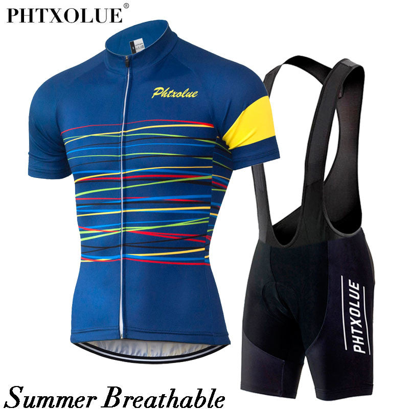 66b8f1e2f ... Phtxolue Cycling Sets Cycling Clothing Bike Clothing Breathable Quick  Dry Men Bicycle Wear Short Sleeve ...