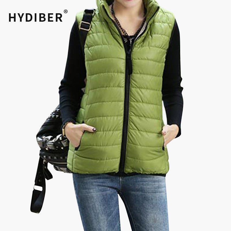 4af6cb379a0 Plus Size Autumn Winter Coat Women Ladies Gilet Colete – MarketerSupply