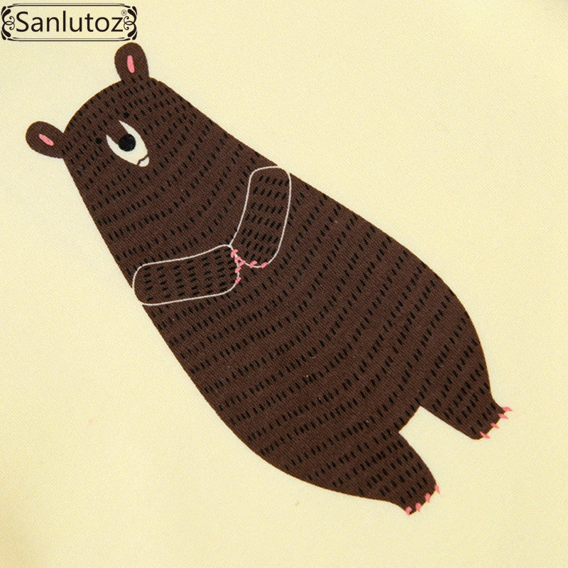 602a0c3a2c7b3 ... Sanlutoz Baby Rompers Winter Infant Bear Jumpsuit Newborn Cute Baby  Clothes Long Sleeve Coverall for Boys ...