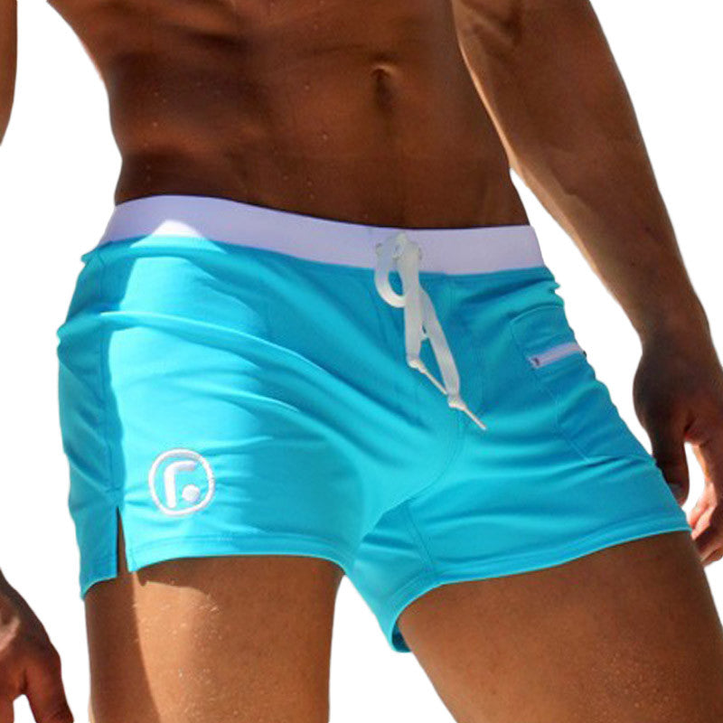 a3a1b261d9 ... Sexy Mens Swim Trunks Plus Size Bathing Trunks For Men Low Waist  Swimming Trunks Boxer Shorts ...