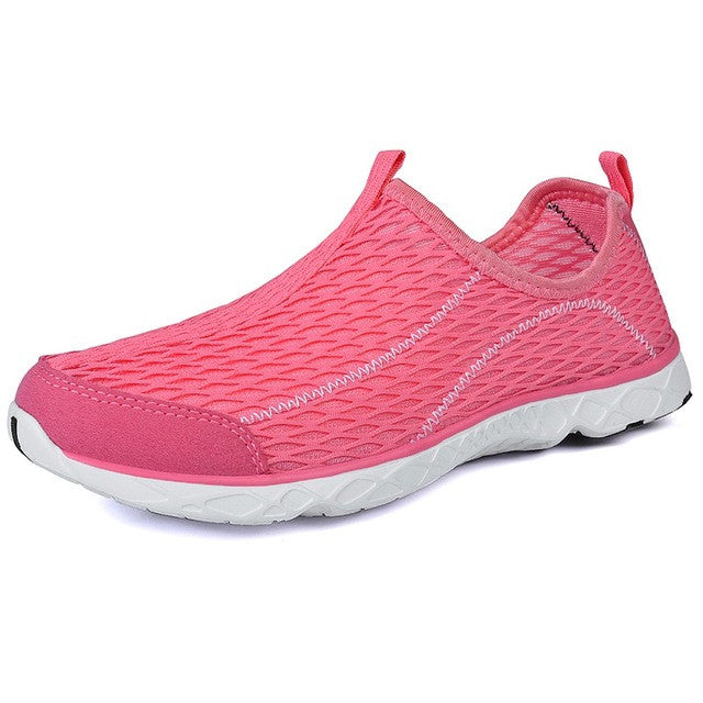 c90432972b9a Unisex Men Summer Running Shoes For Women Sneakers Mesh Breathable Sport  Shoes Men Beach Water Shoes