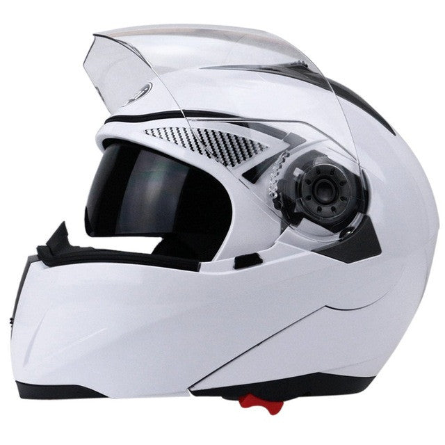 4365cd98 ... New Motorcycle Helmet Full Face Dual Visor Street Bike with Transparent  Shield with ABS Material with ...