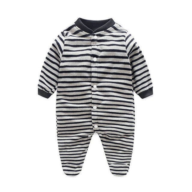 8a7dfd502bfb Unisex Baby Clothes Baby Boy Girl Footed Rompers Infant Animal Baby ...