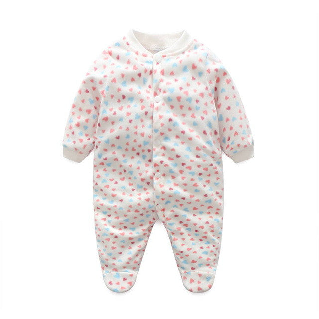 3144a3a12678 Unisex Baby Clothes Baby Boy Girl Footed Rompers Infant Animal Baby ...