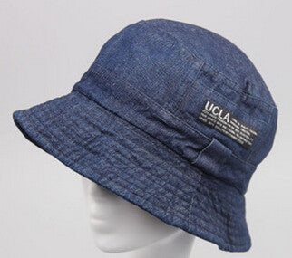 ... 2016 Fashion Cottonblend Denim Unisex Cap Bucket Hat Summer Outdoor Fishing  Caps - MarketerSupply ... efc37a71f1e