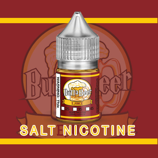 ButtaBeer (Red) Salt Nic