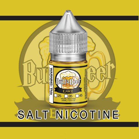 ButtaBeer (Yellow) Salt Nic