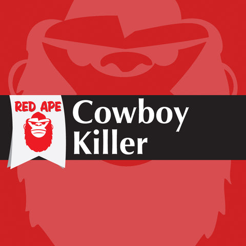 Red Ape Vapes - Cowboy Killer