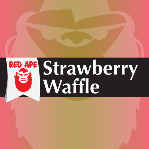 Red Ape Vapes - Strawberry Waffle