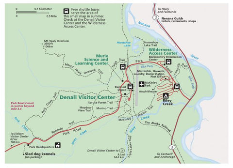 denali, national park, best parks