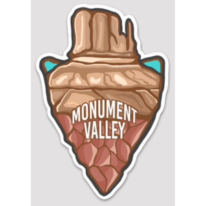 Monument Valley Sticker - UCAN Outdoor Co.