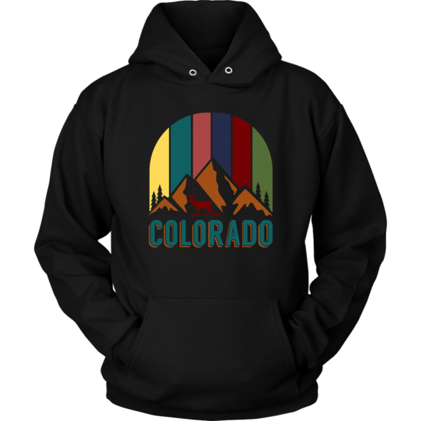 Colorado Theme HoodieUCAN Outdoor Co.