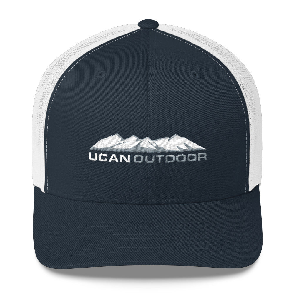 The Mountains Trucker Hat - UCAN Outdoor Co.